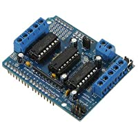 Board & Shield Other Module Board - Motor Driver Shield L293D For Duemilanove Mega U NO - 1 xMotor Drive Shield L293D