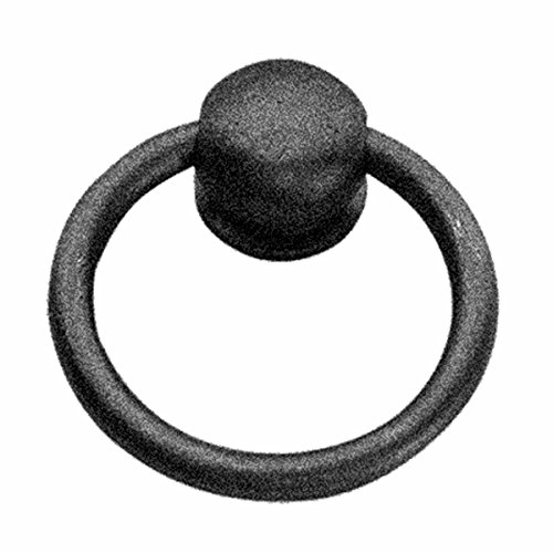 Cabinet Ring Pulls Mission Black Wrought Iron | Renovator's Supply