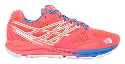 Femme Chaussures Cardiac B de Running Ultra FACE US Rouge THE Gtm Bleu W NORTH M Entrainement xnSwq4wz1