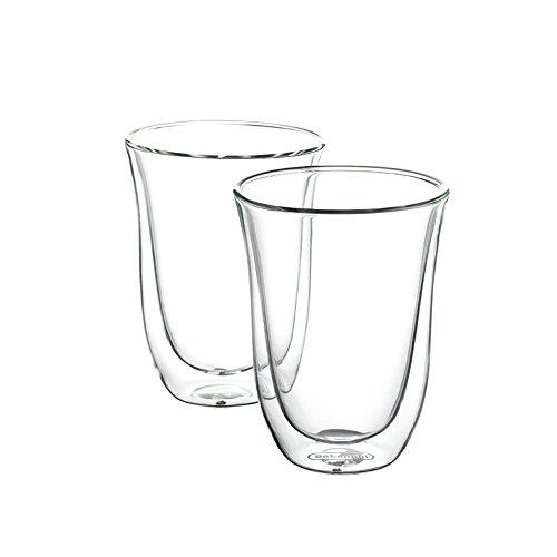 -[ Delonghi 5513214611 Latte Macchiato Thermo Glasses - Pack of 2  ]-
