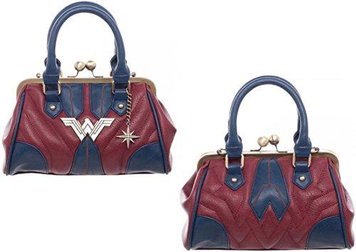 Wonder Woman Costumes Change Comic (Wonder Woman Costume Inspired Women's Handbag)