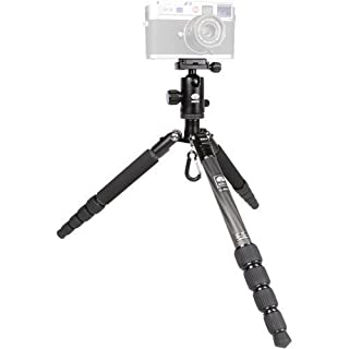 "Sirui T-025X 52"" Carbon Fiber Tripod with C-10S Ball Head and Bag (Black) (B00BFDETS0) 