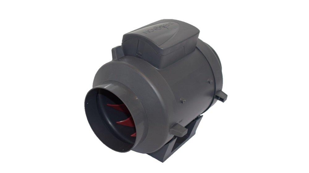 Novovent IN0002125MP Ventilador Extractor para Intercalar en Tuberí as, 82 W, 230 V, 125 mm Novovent Hvac Solutions