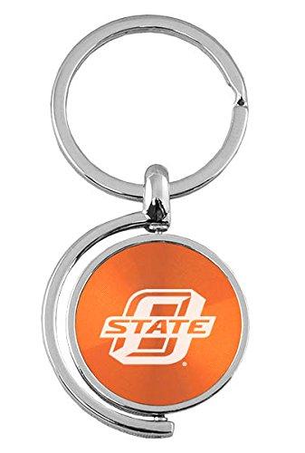 - Oklahoma State University–Stillwater - Spinner Key Tag - Orange