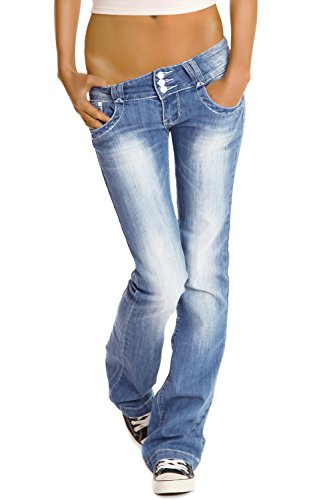 Jeans Bestyledberlin Blu Donna J97y Jeans Bootcutjeans TAnO7qA