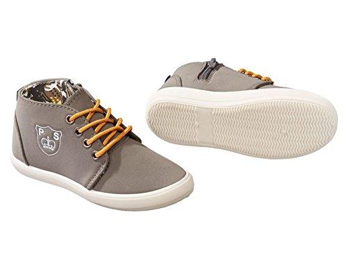 Kinder Jungen Sneaker Braun-Grau 25 26 27 28 29 30 Größe wählbar Schuhe