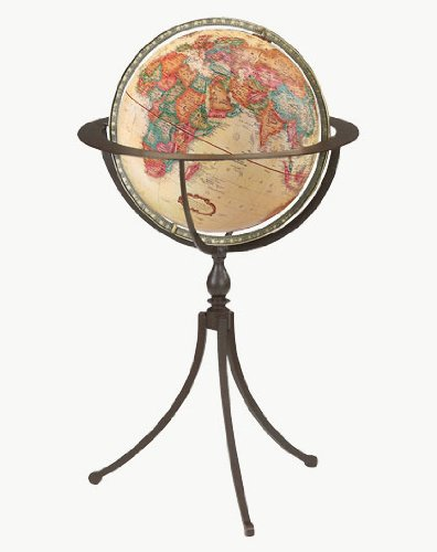 Marin Floor Standing World Globe ()