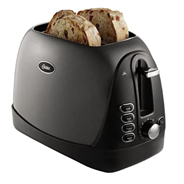 Oster TSSTTRJBG1 Jelly Bean 2-Slice Toaster, Grey