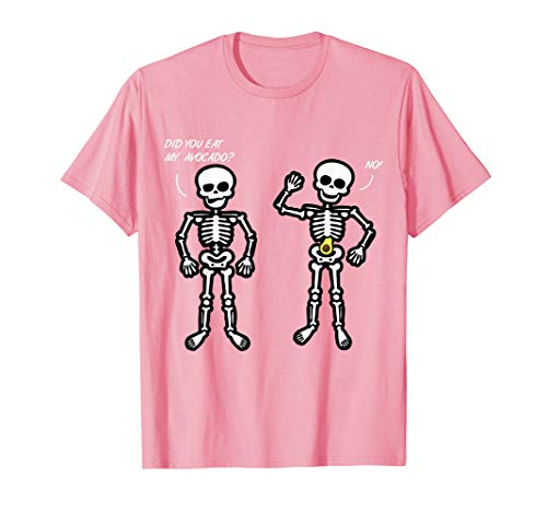 Funny College Halloween Costume Ideas 2019 (Two Skeleton Arguing Avocado Costume Funny Halloween Gift)