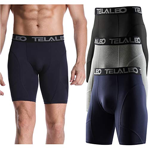 TELALEO Men's Long Compression