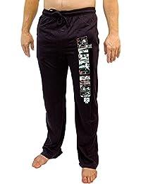 The Walking Dead Zombies Men's Black Sleep Lounge Pants
