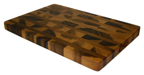 Mountain Woods Acacia Hardwood End Grain Cutting Board with Juice Groove 41Yp6SIXebL