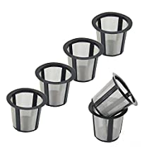 WOTOW Reusable Coffee Filter Set Replacement Filter for Keurig My K-cup style Filter (6)
