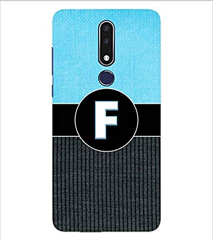 YuBingo Fantastic Letter F Designer Printed Hard: Amazon.in: Electronics