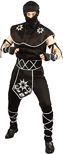 U LOOK UGLY TODAY Mens Halloween Costume Ninja Cosplay for Adult Fancy Party Dress One Size