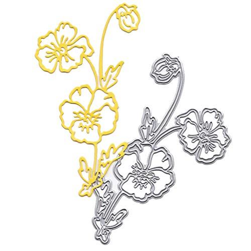 Cutting Dies,IHGTZS 2019 Independence Day DIY Die-Cut New Metal Stencils Album Paper Card circle template New Flower Heart Metal Die-Cut Stencils DIY Scrapbooking Album Paper Card
