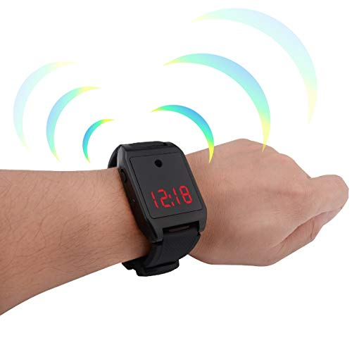 Safety Sound Personal Alarm Watch, Rechargable Comgsa Safe 120 db Emergency for Women, youngers, Girls, Elderly Self Defense