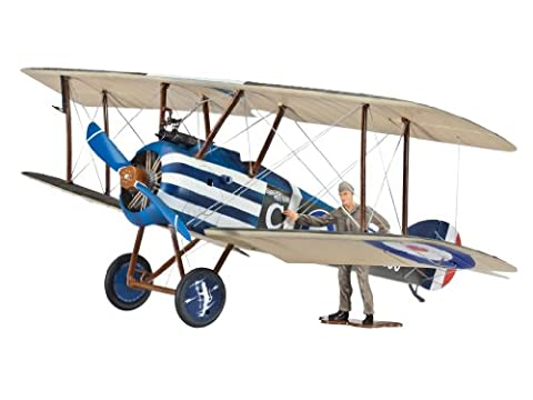 Revell Model Kit - Gift Set - Sopwith F1 Camel Plane - 1:28 Scale - 64747 - New