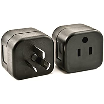 VP 23 Adapter Plug - Converts Grounded USA Plug to Grounded Australian, New Zealand and China Plug