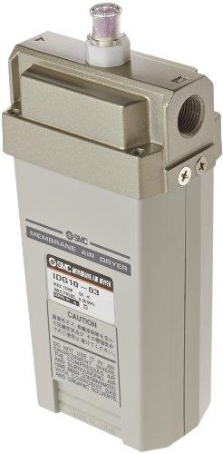 SMC IDG10-03 Membrane Air Dryer, 3/8'' BSPT, Outlet Air Flow 100 L/min; Purge Air Flow 25 L/min, -20 degrees Celsius Dew Point by SMC Corporation