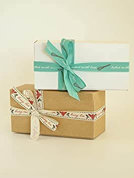 Pack de 6 cajas de regalo pequeñas (código A) cartulina plana pack de caja de regalo autoensamblable apta para chocolates, joyería, regalos pequeños: ...
