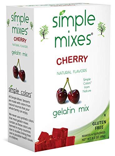 Simple Mixes Cherry Gelatin ()