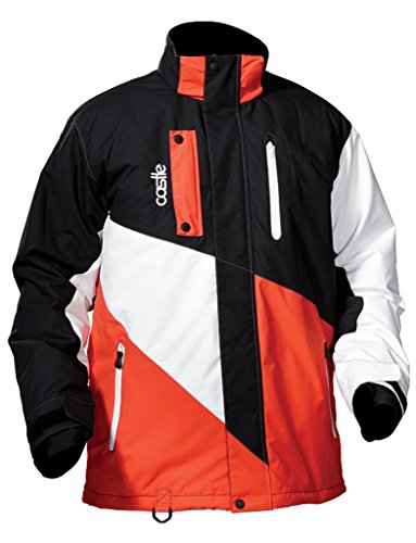 Castle Men's Core - Winter Ski Snowboard Jacket - Medium - - Snow Castle Apparel