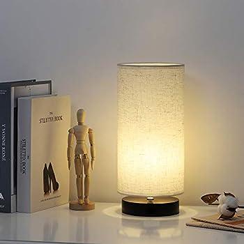Haitral Modern Table Lamp Minimalist Bedside Desk Lamp