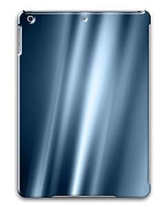 iPad Air Case, iPad 5 Case, Blue Silk Custom Protective Hard Plastic 3D Case Cover for Apple iPad Air/iPad 5