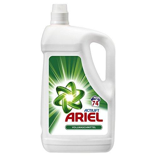 Ariel Flüssigwaschmittel Regulär 4,810 L, 2er Pack (2 x 74 Waschladungen)