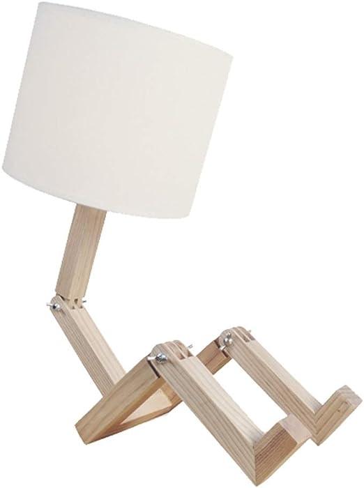 Lámparas de Escritorio Lámparas de Mesa y Mesilla Forma de robot ...