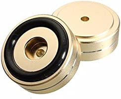 4pcs 40 x 15 mm aislamiento altavoz soporte base para tocadiscos ...
