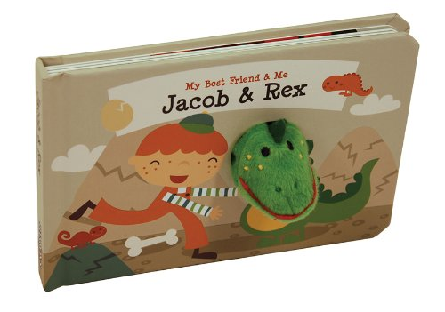 Jacob & Rex Finger Puppet Book: My Best Friend Finger Puppet Books (My Best Friend & Me) (My Best Friend And Me)