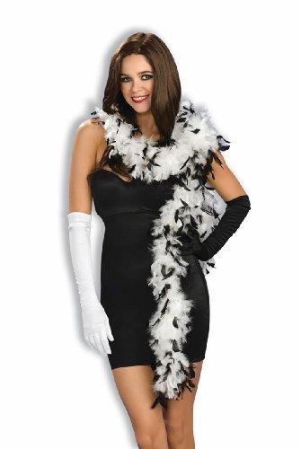 Forum Novelties Black & White Feather Boas 64056]()