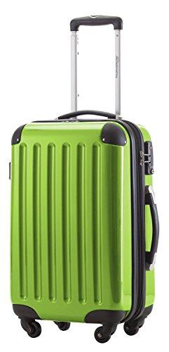 HAUPTSTADTKOFFER - Alex - Carry on luggage Suitcase Hardside Spinner Trolley Expandable 20¡° TSA Applegreen by Hauptstadtkoffer