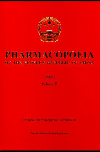 Pharmacopoeia of the People's Republic of China: v. 1-3 by State Pharmacopoeia Commission of the PRC (2005-12-01) pdf