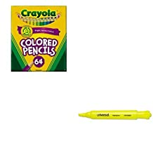 KITCYO683364UNV08861 - Value Kit - Crayola Colored Woodcase Pencil (CYO683364) and Universal Desk Highlighter (UNV08861)