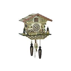 Trenkle Quartz Cuckoo Clock Heidi with Music TU 4253 QM