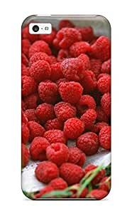 High Quality Hxy Raspberry Skin Case Cover Specially Designed For Iphone - 5c