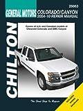 Automotive Repair Manual for Chevrolet Colorado/GMC Canyon 2004-'12 (28863)
