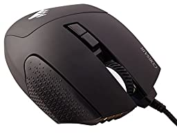 Corsair Gaming SCIMITAR RGB MOBA/MMO Gaming Mouse, Key Slider Mechanical Buttons, 12000 DPI, Yellow