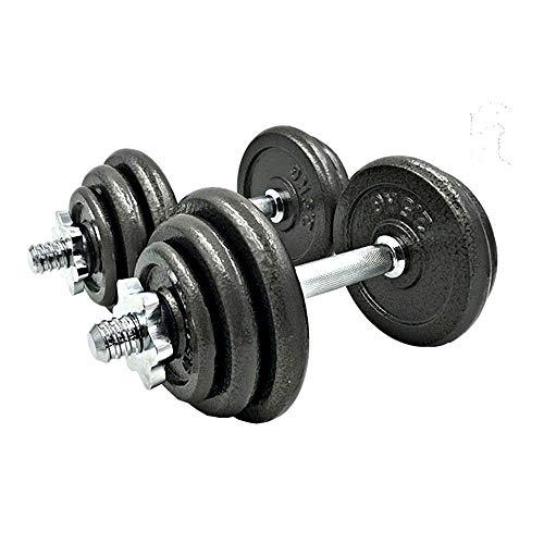 20Kg Fitness halterset, verstelbare Gewicht Pure ijzer Dumbbell Thuis fitness apparatuur voor oefening Arm en Body…
