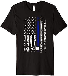 Police Graduation  Police Academy 2019 Exam Gift Premium T-shirt | Size S - 5XL