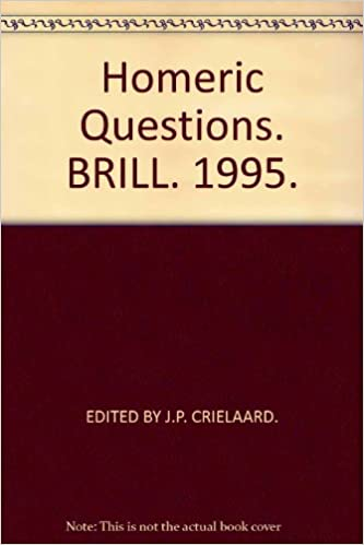 com homeric questions essays in philology ancient  homeric questions essays in philology ancient history and archaeology including the papers of a conference organized by the institute