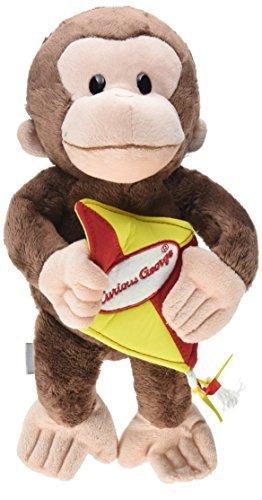 Kite Toy - GUND Curious George Kite Monkey Stuffed Animal Plush, 11.5