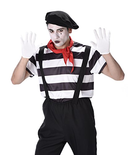 Men's French Mime Artist Costume - Size Medium for $<!--$22.95-->