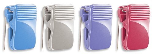 Officemate Cubicle Clips, Assorted Colors, Box of 24 (30178) ()