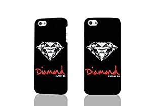 Logo Diamond Supply Co 3D Rough Case Skin, fashion design image custom , durable hard 3D Case For Samsung Note 2 Cover , Case New Design By Codystore
