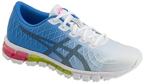 ASICS Gel-Quantum 180 4 Women's Running Shoe, White/Stone Grey, 7.5 M ()