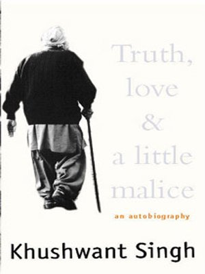 Truth, love & a little malice: An autobiography PDF